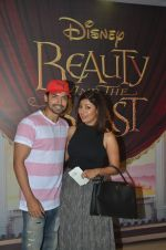 Gurmeet Chaudhary, Debina Banerjee at Beauty and Beast screening in Mumbai on 15th May 2016