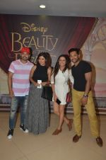 Gurmeet Chaudhary, Debina Banerjee, Sargun Mehta, Terence Lewis at Beauty and Beast screening in Mumbai on 15th May 2016