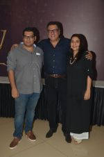 Kayoze Irani, Boman Irani at Beauty and Beast screening in Mumbai on 15th May 2016