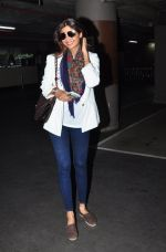 Shilpa Shetty at the airport in Mumbai on 15th May 2016