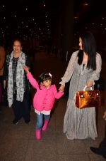 Aishwarya Rai Bachchan at airport as she returns from Cannes on 16th May 2016
