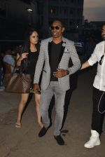Dwayne Bravo on the sets of Sony Entertainment Television