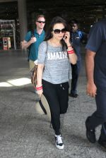 Preity Zinta snapped at airport on 16th May 2016