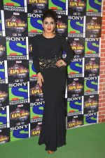 Raveena Tandon on the sets of Sony Entertainment Television_s The Kapil Sharma on 16th May 2016 (25)_573ac913996e9.JPG