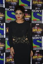 Raveena Tandon on the sets of Sony Entertainment Television_s The Kapil Sharma on 16th May 2016 (26)_573ac9144e8ca.JPG