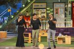 Raveena Tandon, Dwayne Bravo on the sets of Sony Entertainment Television_s The Kapil Sharma on 16th May 2016 (56)_573ac8f3d7c73.JPG
