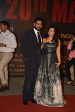 Aishwarya Rai Bachchan, Abhishek Bachchan at Sarbjit Premiere in Mumbai on 18th May 2016