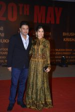 Divya Kumar, Bhushan Kumar at Sarbjit Premiere in Mumbai on 18th May 2016