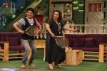 Farah Khan on the set of The Kapil Sharma Show in Mumbai on 18th May 2016
