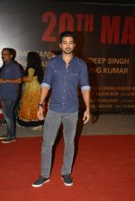 Saqib Saleem at Sarbjit Premiere in Mumbai on 18th May 2016
