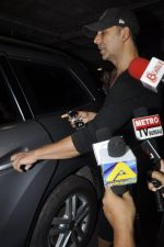 Akshay Kumar arrives from Singapore on 21st May 2016