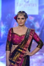 Zarine Khan walks for India Beach Fashion Week for designer Sanjukta Dutta on 21st May 2016 (7)_5743070bc1d1f.JPG