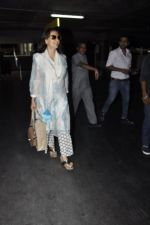 Juhi Chawla snapped at airport on 23rd May 2016