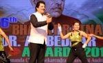 udit narayan at 6th Bharat Ratna Dr. Ambedkar Awards in Mumbai on 23rd May 2016_5743f3a930f43.jpg