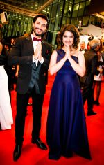 Actress Avika Gor and Actor Manish Raisinghani at Cannes Red Carpet _5746d80792917.jpg