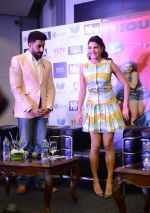 Jacqueline Fernandez, Abhishek Bachchan with Housefull 3 team in Delhi on 25th May 2016
