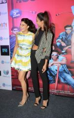 Jacqueline Fernandez, Lisa Haydon with Housefull 3 team in Delhi on 25th May 2016