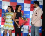 Jacqueline Fernandez, Lisa Haydon, Abhishek Bachchan with Housefull 3 team in Delhi on 25th May 2016
