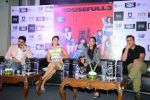 Jacqueline Fernandez, Lisa Haydon, Akshay Kumar, Abhishek Bachchan with Housefull 3 team in Delhi on 25th May 2016