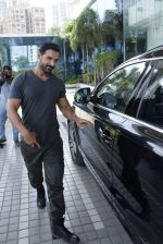 John Abraham snapped post Dishoom meeting on 25th May 2016