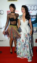Lisa Haydon, Jacqueline Fernandez at Ht Most Stylish Awards in Delhi on 24th May 2016