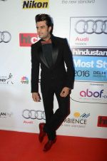 Manish Paul at Ht Most Stylish Awards in Delhi on 24th May 2016