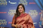 Sonali Rathod at Mirchi Mehfil in radio mirchi, Mumbai on 25th May 2016