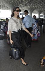 Sonam Kapoor snapped at airport on 24th May 2016