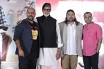 Amitabh Bachchan, Vishal Dadlani at New Song Released at the TE3N Music Launch in Mumbai on 27th May 2016