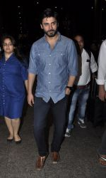 Fawad Khan snapped at airport in Mumbai on 28th May 2016