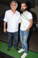 Hansal Mehta, Raj Kumar Yadav at Kiran Rao hosts Thithi screening on 28th May 2016 (37)_574a9981306ab.JPG