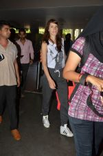Kalki Koechlin snapped at airport in Mumbai on 28th May 2016