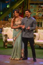 Karan Singh Grover and Bipasha Basu on the sets of Kapil Sharma Show on 28th May 2016 (84)_574a98efeb10c.JPG