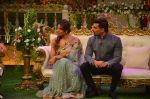 Karan Singh Grover and Bipasha Basu on the sets of Kapil Sharma Show on 28th May 2016 (88)_574a98f25cf33.JPG