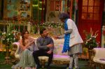 Karan Singh Grover and Bipasha Basu on the sets of Kapil Sharma Show on 28th May 2016 (90)_574a98f37fbfe.JPG