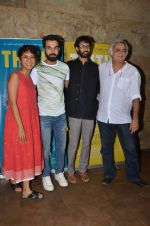 Kiran Rao, Hansal Mehta, Raj Kumar Yadav , Raam Reddy at Kiran Rao hosts Thithi screening on 28th May 2016 (41)_574a9a0c80295.JPG