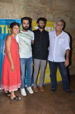 Kiran Rao, Hansal Mehta, Raj Kumar Yadav , Raam Reddy at Kiran Rao hosts Thithi screening on 28th May 2016 (43)_574a99de3813c.JPG