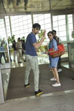 Sidharth Malhotra snapped at airport in Mumbai on 28th May 2016