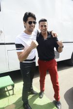 Sidharth Malhotra and Akshay Kumar snapped on 30th May 2016