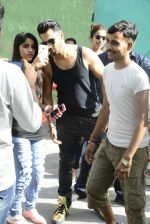 Varun Dhawan snapped at Dream Team tour photo shoot on 30th May 2016