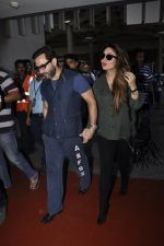 Kareena Kapoor, Saif Ali Khan snapped at airport  in Mumbai on 31st May 2016 (20)_574e88637b2b8.JPG