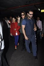 Kareena Kapoor, Saif Ali Khan snapped at airport  in Mumbai on 31st May 2016 (22)_574e88655ee8f.JPG