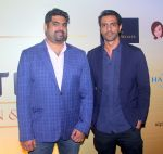 Arjun Rampal at India Nightlife Convention Awards press meet in Mumbai on 1st June 2016