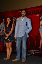Jacqueline Fernandez, Abhishek Bachchan at Housefull 3 press meet in Mumbai on 1st June 2016