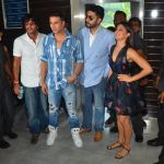 Jacqueline Fernandez, Akshay Kumar, Abhishek Bachchan at Housefull 3 press meet in Mumbai on 1st June 2016