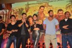 John Abraham, Varun Dhawan, Jacqueline Fernandez, Akshay Khanna at the Trailer Launch of Dishoom in Mumbai on 1st June 2016 (427)_574fd964ac3df.JPG