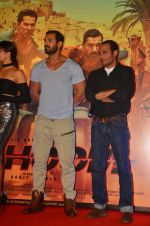 John Abraham, Varun Dhawan, Jacqueline Fernandez, Akshay Khanna at the Trailer Launch of Dishoom in Mumbai on 1st June 2016 (450)_574fd96789068.JPG