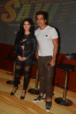 Lucy Pinder, Sonu Sood at the Trailer Launch of Warrior Savitri in Mumbai on 1st June 2016