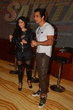 Lucy Pinder, Sonu Sood at the Trailer Launch of Warrior Savitri in Mumbai on 1st June 2016 (35)_574fd8f2e8132.JPG