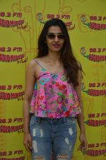 Radhika Apte at Radio Mirchi studio for promotion of her new psychological thriller released movie Phobia on 1st June 2016